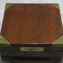 Ulysse Nardin vintage wooden watch box rare with defect