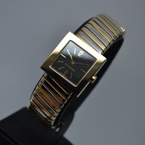 Bulgari Bvlgari Tubogas 18K Gold  Square Ladies with warranty