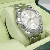 Rolex Datejust II 116300 41mm Date Smooth Bezel Automatic Watch