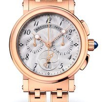 Breguet Brequet Marine 8827 18K Rose Gold Ladies Watch