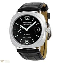 Panerai Radiomir 8 Day Manual Wind Stainless Steel Men's...