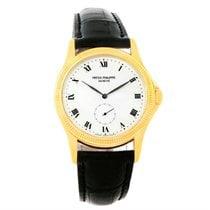 Patek Philippe Calatrava 18k Yellow Gold Watch 5115 Papers