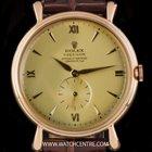 Rolex 18k R/G Rare Chronometer Dial Precision Vintage Gents 4134