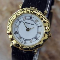 Leonard Gold-plated Dress Watch