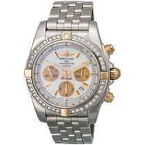 Breitling Chronomat Two-Tone Automatic Chronograph Men's Watch...
