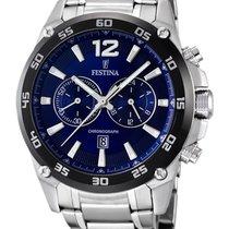 Festina Sport F16680/2 Chronograph blau 47 mm 10 ATM