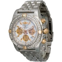 Breitling Chronomat Two-Tone Chronograph Watch IB011053/A697