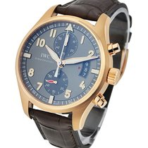 IWC Spitfire Chronograph Pilot's in Rose Gold