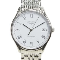 Longines Lyre Stainless Steel White Automatic L4.860.4.11.6