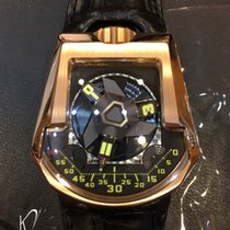 Urwerk Satellite Complication UR 202 in Rose Gold
