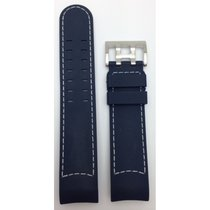 Hamilton Khaki X-Wind Kautschukband blau 22mm H600.776.105