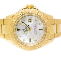Rolex Yacht Master, 18K Yellow Gold MOP