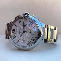 Cartier Ballon Bleu Chronograph XL Guilloche Dial 44 mm (Full...