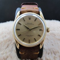Rolex BOMBAY 6590/3 14K Yellow Gold with Gold Dial