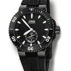 Oris Aquis Titan Black Dial titanium black