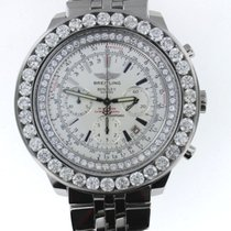 Breitling Bentley Limited Edition 12+ carat QLTY Diamonds...
