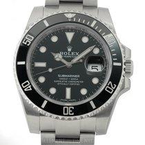 Rolex Submariner Stainless Steel Ceramic Black Dial 40mm Ref....
