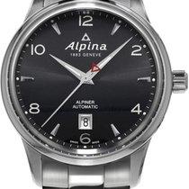 Alpina Geneve Alpiner Automatic AL-525B4E6B Herren Automatikuh...