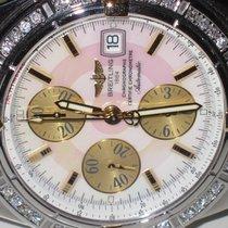 百年靈 (Breitling) Chronomat Evolution 18K Gold MOP Diamond