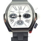 Cartier Roadster Chronograph Panda dial steel rubber 6206020 NEW