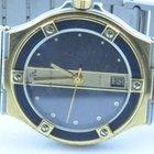 Maurice Lacroix Herren Uhr 34mm Stahl/gold Quartz Rar 2 Calypso