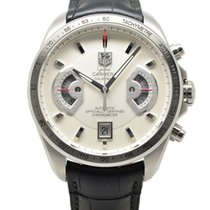 TAG Heuer Grand Carrera Chrono Model Auto Watch White Dial...