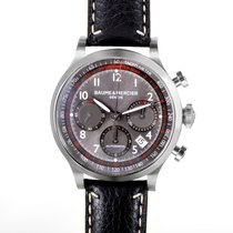 Baume & Mercier Capeland Mens Stainless Steel Chronograph...