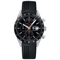 TAG Heuer Carrera 41mm Chrono Date Automatic Mens Watch Ref...