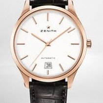 Zenith Captain Power Reserve Mens 40mm Automatic in Rose Gold