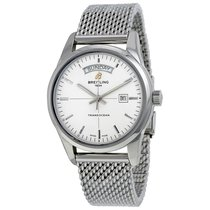 Breitling Transocean Day Date Automatic Mens Watch A4531012-G7...