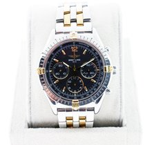 Breitling Windrider ChronoCockpit B30011 Two Tone Black Dial