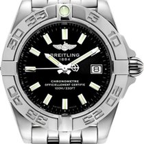 Breitling Galactic 32 Black Dial Automatic Women Watch...