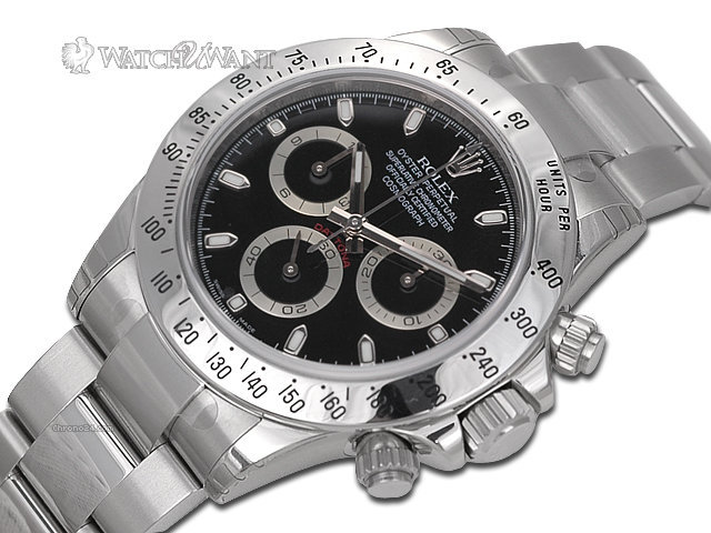 Rolex Mens Oyster Perpetual Cosmograph Daytona Chronograph - 40mm Stainless Steel - Ref 116520  - Purchased August 2013 & Unworn - Factory Applied Protective Stickers- 100% Complete & Absolutely Unworn
