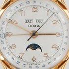 Doxa triple calendar moonphase Vollkalender Datora
