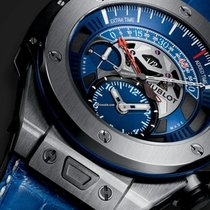 Hublot [NEW]Big Bang Unico Bi-Retrograde Chrono Paris Saint-Ge...