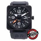 Bell & Ross BR 01-93 GMT 24h Ref. BR0193-GMT - Pre-Owned
