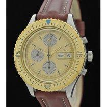 Sinn - Ref. 86505 - Chronograph - Lemania 5100 - Edelstahl/Mes...