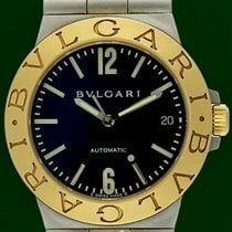 Bulgari Diagono 35mm Automatic Date 18k Yellow Gold Steel