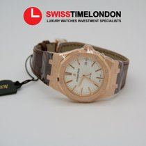 Audemars Piguet Royal Oak Rose Gold 41MM White Dial