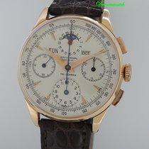 Universal Genève Vollkalender mit Mondphase Chronograph 18k...