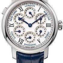 Aerowatch Renaissance 7 Time Zones 51974 AA01