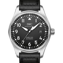 IWC Schaffhausen IW327001 Pilot's Watch Mark Xviii Black...