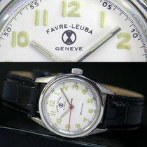 Favre-Leuba Geneve Sea Chief Winding White Dial Steel Unisex...