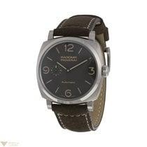 Panerai Radiomir 1940 3 Days Polished Titanium Men's Watch