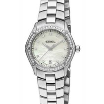 Ebel 1215983,9953Q24/99450 Classic Sport in Steel with Diamond...