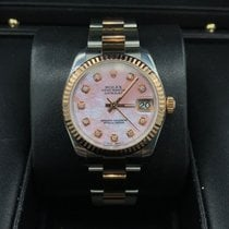 Rolex Datejust Two-Tone Rose Gold 31mm 178271 MINT