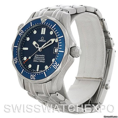Omega Seamaster Steel Midsize Watch