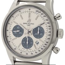 Breitling Transocean Chronograph Stainless Steel 43mm