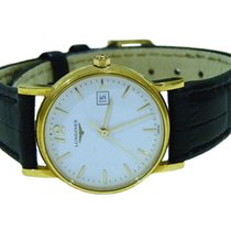 Longines Prestige 18K Yellow Gold Ladies Watch