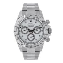 Rolex DAYTONA Stainless Steel White Dial